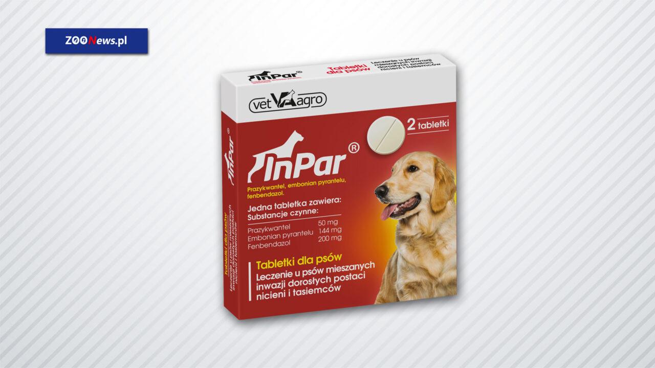 InPar odrobaczające tabletki dla psów - ZOONEWS.PL