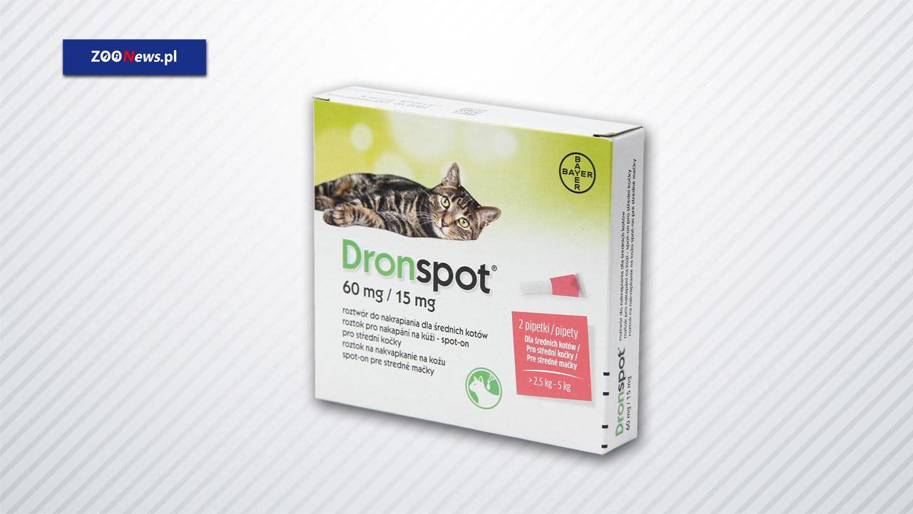 Krople na robaki u kota Dronspot - ZOONEWS.PL