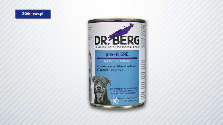 Karma dla psów z problemami nerkowymi – Dr. BERG