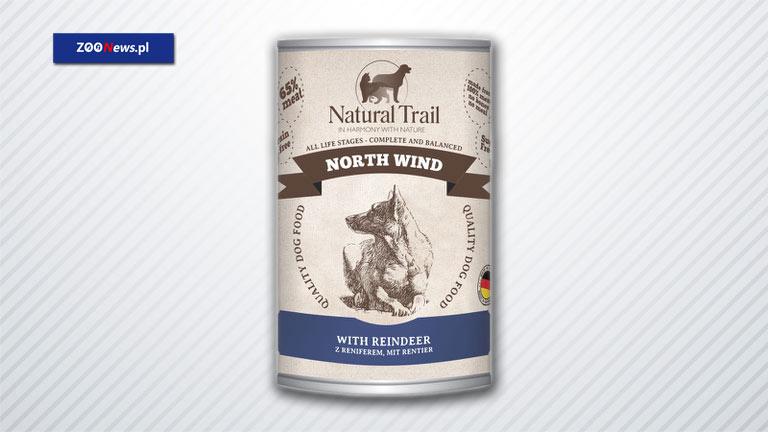 Karma z reniferem dla psów aktywnych - North Wind