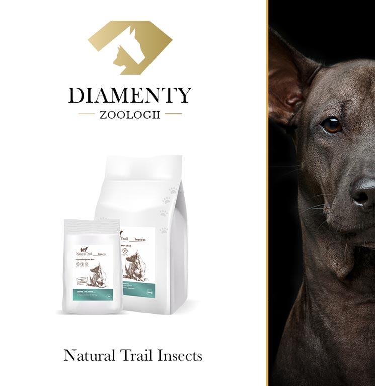 Diamenty Zoologii 2021 za karmę Natural Trail Insects