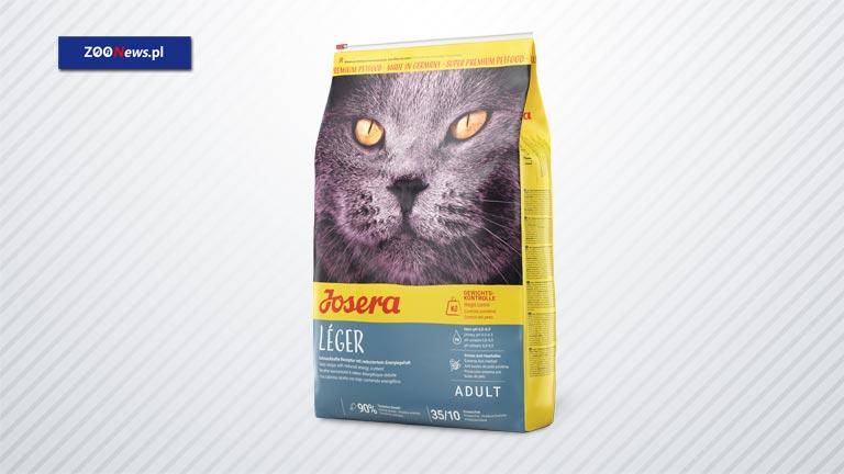 Sucha karma dla kotów Josera Léger