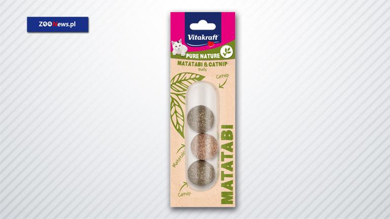 Naturalne zabawki dla kota z Matatabi