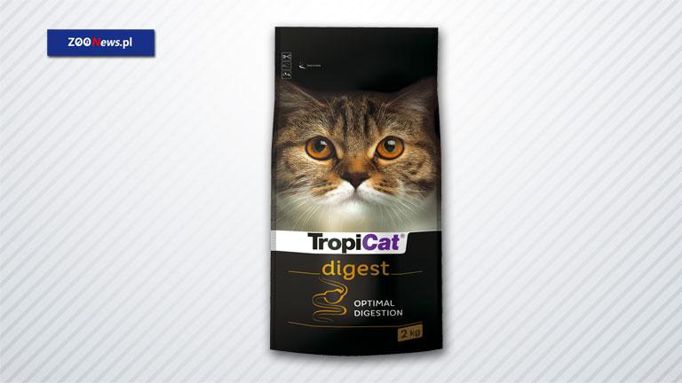 Karma dla kotów na trawienie - TropiCat Digest